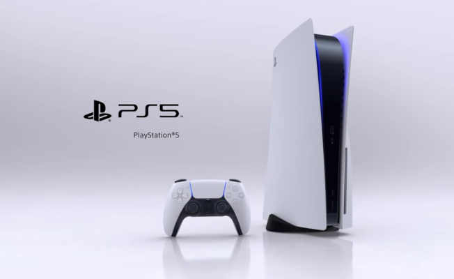 And finally…here's Sony's PlayStation 5