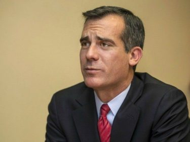 Mayor Eric Garcetti Blames 'Institutional Racism' for Homelessness in Los Angeles