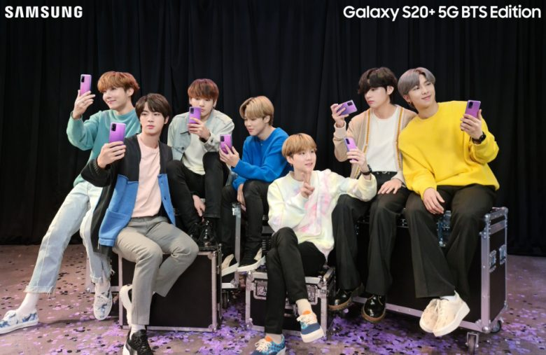 Samsung teams up with BTS for special edition S20+ and Galaxy Buds+
