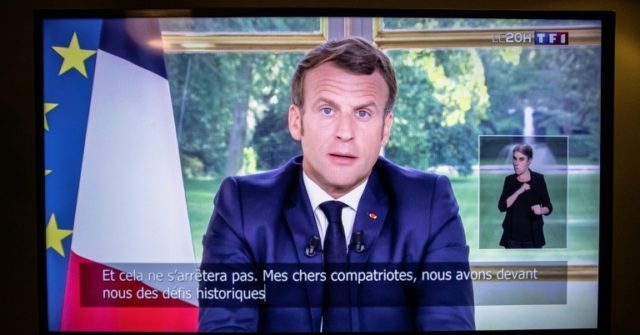 Macron Rejects Tearing Down Statues in France – Breitbart