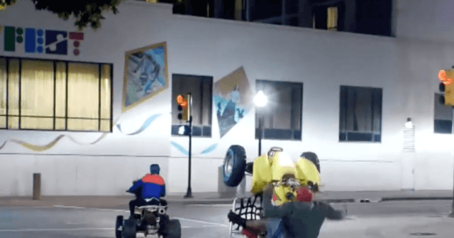 Watch – Epic Wheelie Fail: Anti-Trump Agitators Humiliated After Falling Off ATV