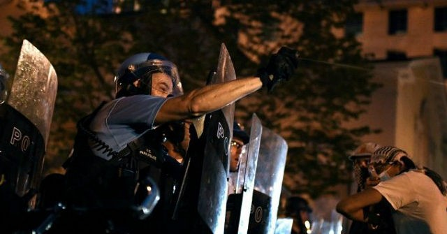 D.C. Protesters Try to Set Up 'Black House Autonomous Zone': 'You Are Now Leaving the U.S.'