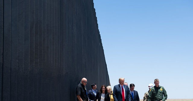 Watch: Border Wall Extends 216 Miles, Adding 1 Mile a Day