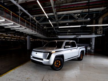 Lordstown debuts a $52,500 electric pickup alongside a campaigning Mike Pence