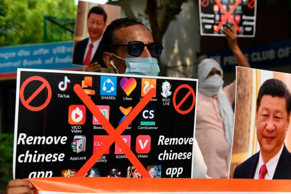 Apple and Google block dozens of Chinese apps in India