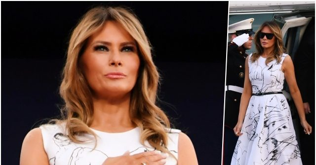 Fashion Notes: Melania Trump Wears Off-the-Runway McQueen at Mt. Rushmore