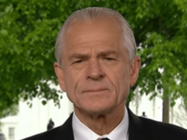 Navarro: 'There Will Be a Series of Actions' 'That Will Hold China Accountable'