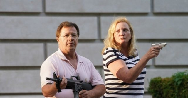 Rifle Seized from St. Louis Couple Who Defended Home with Guns