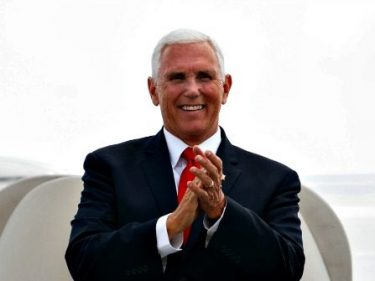 Exclusive — Pence: Trump 'Only Thing Between' America and 'Far Left'