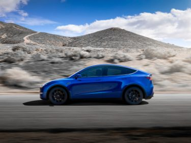 Tesla lowers the starting price of its Model Y electric SUV