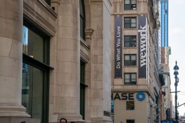 WeWork's chairman says it expects to have positive cash flow in 2021