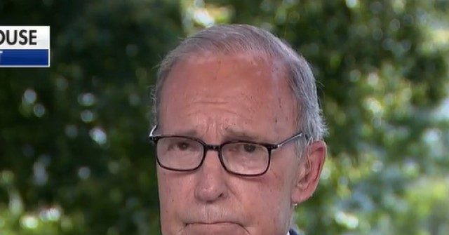 Kudlow Doubles Down: V-Shaped Recovery 'a Story That's Still in Place' — 'Don't See an Interruption'