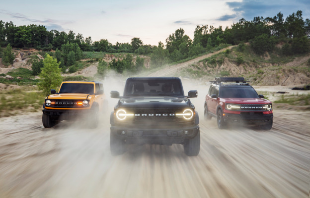 Ford blends tech and nostalgia in the 2021 Bronco