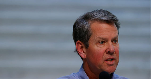 Georgia Gov. Brian Kemp Defends Absence of Statewide Mask Mandate