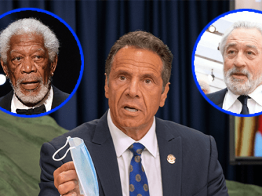 Gov. Cuomo Launches 'Mask Up America' Campaign with Morgan Freeman, Robert De Niro