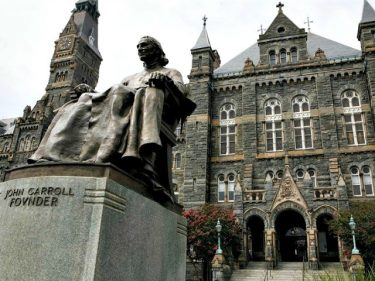 Georgetown Student Petition: Create a 'Sanctuary Space' Campus by Banning Cops