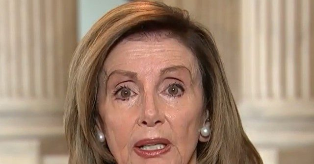 Pelosi: 'Whether He Knows It Yet or Not' Trump Will Be Leaving the White House — Even If He 'Has to Be Fumigated'
