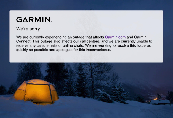 Garmin global outage caused by ransomware attack, sources say
