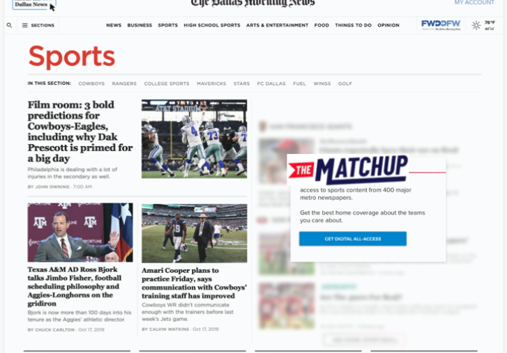 Google's latest local news effort is a dedicated sports hub