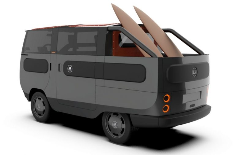 eBussy is a modular EV that's also a camper, pickup truck and more