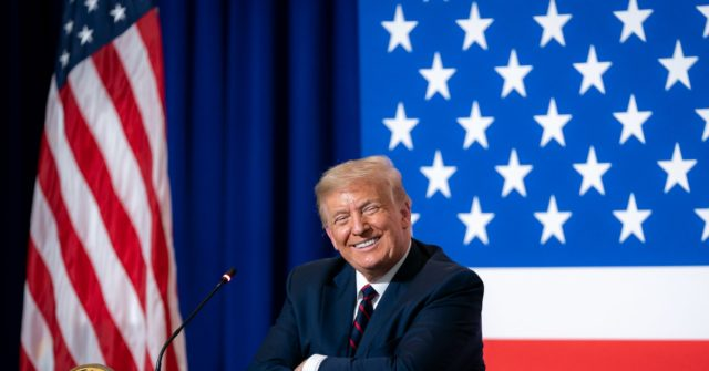 Rasmussen: Donald Trump Approval Rating Bounces Back to 50 Percent