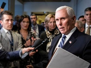 Exclusive–Mike Pence: Trump Admin Working on Vaccine Since February