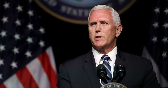 Exclusive – Pence on 'Defund the Police': Back the Blue, Give Cops More Funding
