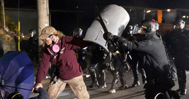 Portland Police: 'Extremely Dangerous Situation' as Demonstrators Attack Cops