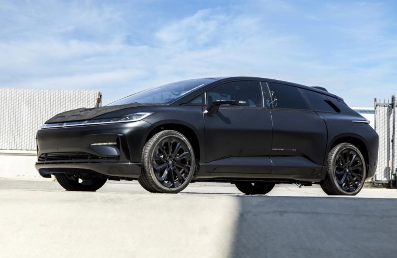 Record-breaking Faraday Future prototype EVs are up for auction