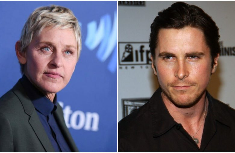 If Ellen DeGeneres Is Canceled, Why Is Christian Bale Still Around?