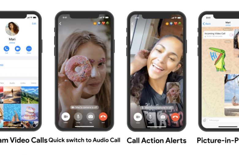 Telegram's one-on-one video calls are live on Android and iOS