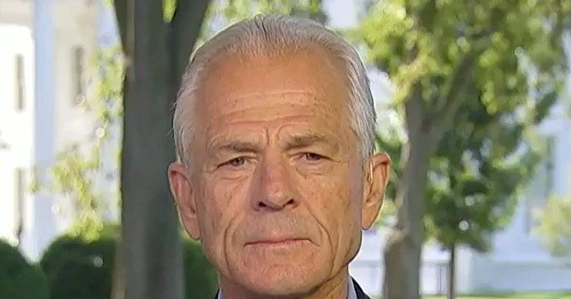 WH's Navarro: China 'Hoping Joe Biden Will Get Elected,' 'Waging Information Warfare Against Us Trying to Manipulate Our Election'