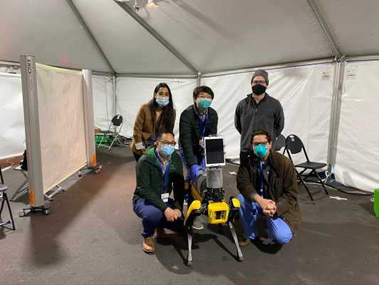 MIT and Boston Dynamics team up on 'Dr. Spot,' a robot for remote COVID-19 vital sign measurement
