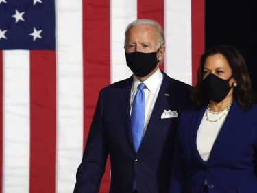The Dow Is Rallying Because Wall Street Doesn't Care If Biden Wins