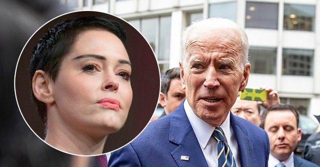 Nolte: Rose McGowan Rips DNC, Clintons — 'I Believe Joe Biden Is a Rapist'
