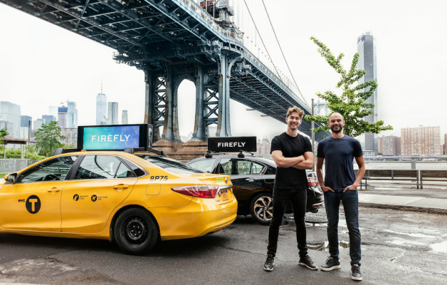 Rideshare and taxi ad startup Firefly acquires Strong Outdoor's out-of-home ad business