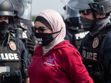 Anti-Israel Linda Sarsour Arrested at Kentucky Protest