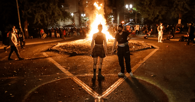 Portland Mayor: Let Violence 'Burn Itself Out' as Police Detail Riots