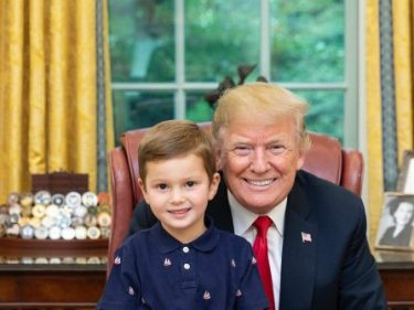 Nolte: Media Attack Trump's 3-Year-Old Grandson for Playing with Legos