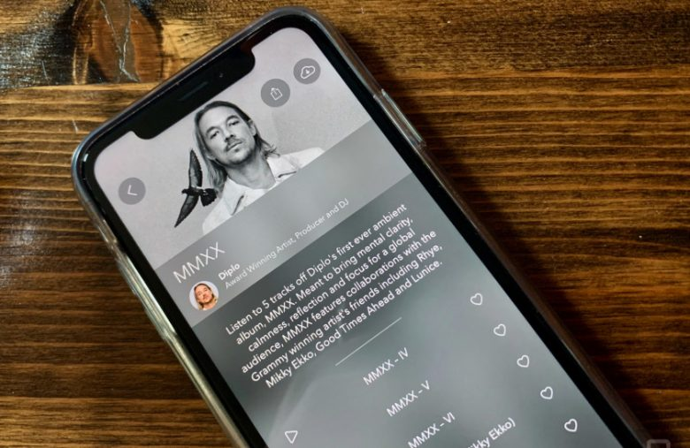 Diplo previews his new album in the meditation app Calm