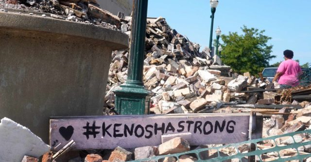 Armed Residents Stand Guard to Protect Kenosha Neighborhood