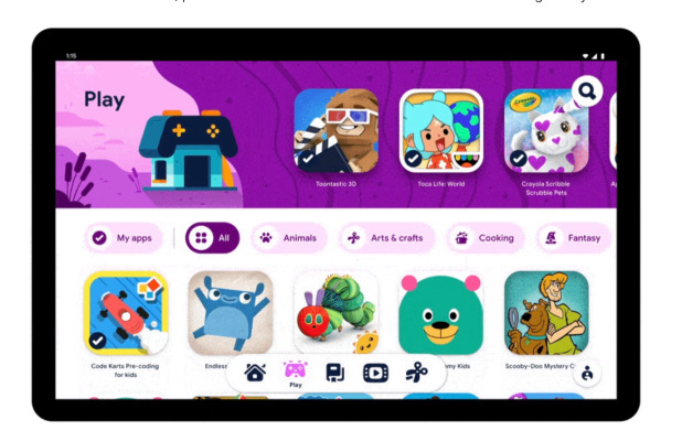 Google launches Google Kids Space, a 'kids mode' feature for Android, initially on Lenovo tablets