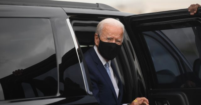 Joe Biden Back Underground After Rare Day on Campaign Trail