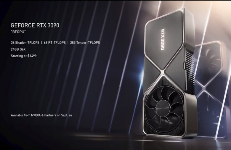 NVIDIA's GeForce RTX 3090 is a $1,499 GPU for 8K gaming
