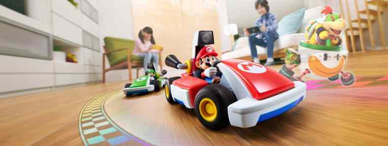 Nintendo's latest trick is turning the Switch into an RC controller for an AR Mario Kart game