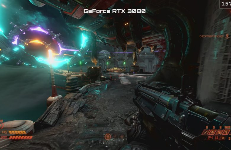 NVIDIA shows off 'Doom Eternal' running on the GeForce RTX 3080