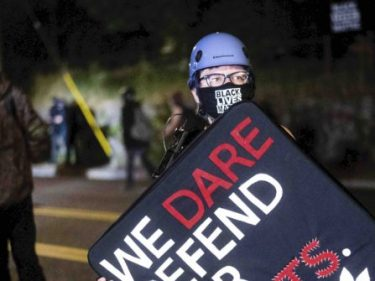 Portland Antifa Pay Homage to Man who Allegedly Shot Trump Supporter