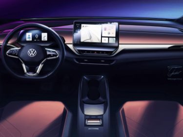 VW's all-electric ID.4 will use interior lighting to communicate with the driver