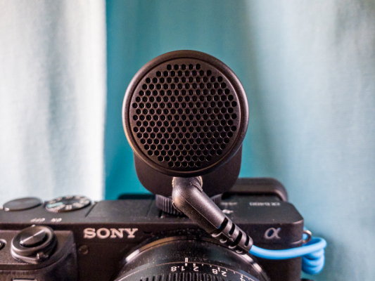 Sennheiser's MKE 200 on-camera microphone is the perfect home videoconferencing upgrade