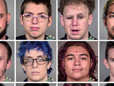 Antifa Mugshots: Several Portland Rioters Released Without Bail